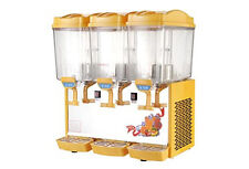 Commercial cold drink machine 3*17L Hot and cold juice dispenser