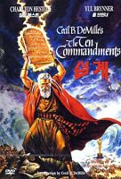 The Ten Commandments (1956) Cecil B. DeMille, Charlton Heston / DVD, NEW