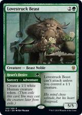 x1 Lovestruck Beast // Heart's Desire MTG Throne of Eldraine R M/NM, English