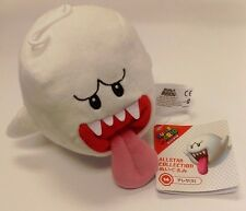 "Super Mario Bros. Ghost Boo 6"" Plush Official Sen-Ei Little Buddy Soft Stuffed"