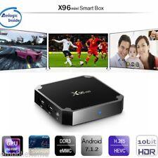 X96mini Android Smart TV Box 2.4GHz WiFi 1GB+8GB 4K HD Digital Media Player UK