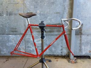 Vintage 1970's Belgian steel frame frameset Shimano, Cinelli, Mavic, Sugino