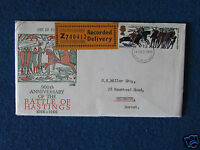 First Day Cover - Battle of Hastings - Stamped/Recorded - 14/10/66 Southampton
