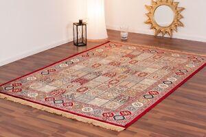 Silk like Soft RED 4 Seasons Traditional Classic Des. Rug 120x170cm -50%
