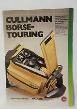 D13> Brochure Cullmann Borse Touring