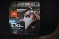 OZARK TRAIL Kids' Sleeping Bag  (Speedy the Sloth)  Brown