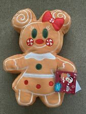Authentic Disney Minnie Gingerbread Scented Plush Nwt