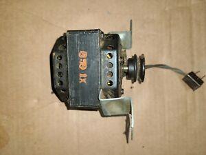 Leslie Hammond Speaker Motor Pulley Tested Working