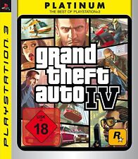 PS3 / Sony Playstation 3 Spiel-GTA/Grand Theft Auto IV (4)(Platinum)(OVP)(USK18)