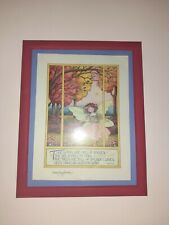 """Signed Mary Engelbreit Art Print """"The Woods are Full of Fairies - 8X10"""""""