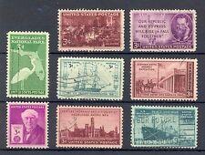 USA 1946/47: Everglades Smithsonian Kearney Frégate Pulitzer etc, Bon Utilisé