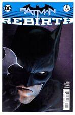 1)BATMAN REBIRTH #1(8/16)CALENDAR MAN/LUCIUS FOX/JIM GORDON(SNYDER)(CGC IT)9.8!!