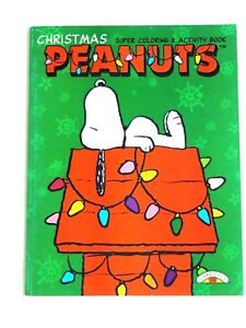 CHRISTMAS PEANUTS SUPER COLORING AND ACTIVITY BOOK