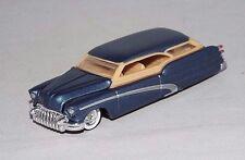 Hot Wheels 1 Loose Larry Wood's 35th Anniversary Set Car '50 Buick Wagon Blue