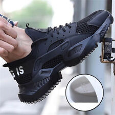 AtreGo Men's Safety Steel Toe Cap Work Shoes Protective Trainers Hiking