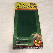 "Reptile Eco Carpet Zoo Med Terrarium 60 Gallon 18 x 48"" 227 Liters Washable Cc60"