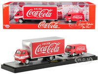 1969 DODGE L600 COE & 1964 DODGE A100 VAN COCA-COLA SET 1/64 M2 56000-TW01-DODGE
