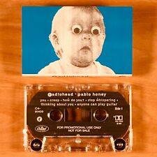 Radiohead - Pablo Honey. Rare Promo Cassette Tape.