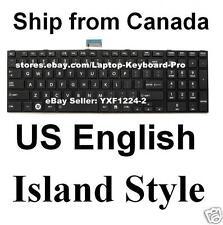 Toshiba Satellite L850 L850D L870 L870D L855 L855D L875 L875D Keyboard US ISLAND
