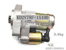 1pcs Kipor 10 Kw Diesel Generator Parts Kde12000ea3 Start Motor Kd2v78f 15100