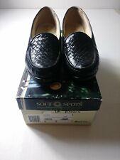 Soft Spots  Womens 9M  Brown Slip On Comfort Shoes W/ Box