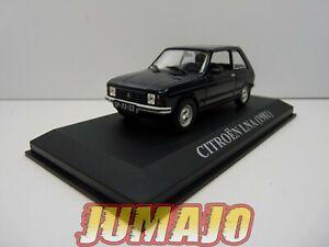 VA6 Macchina 1/43 ixo altaya: Citroën Lna Nero 1981