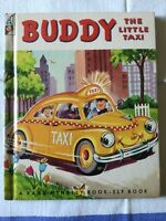 Rand McNally Elf Book, Buddy the Little Taxi, 1st 1951, Alf Evers, Very Good +++