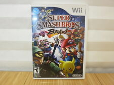 Super Smash Bros. Brawl Wii Game (Nintendo Wii, 2008) Free Shipping