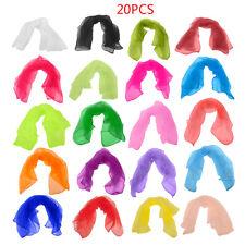 Jongliertücher 20 St, Mehrfarben Jongliertücher Square Dance Jonglieren Schals