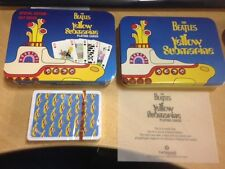 The Beatles Yellow Submarine, playing cards, special edition Cartamundi