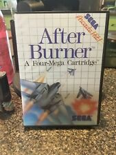 After Burner (Sega Master, 1988) Tested In Box
