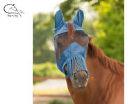 Waldhausen UV Protect Horse Pony Full Face Fly Mask Hood Ears /& Long Nose Flap