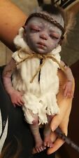 Avatar alien micro preemie reborn baby doll fantasy fairy