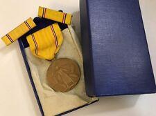 WW2 American Defense Service Campaign Medal Original Box