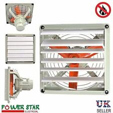 Explosion Proof EX Extractor Fan Spray Metal Axial Air Blower  Shutter