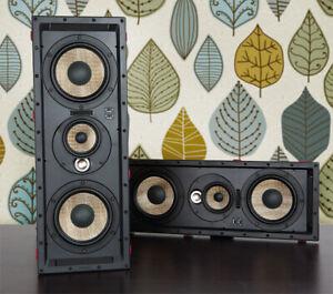 "BRANDNEWSEALED Focal 300IWLCR6 6.5"" In-Wall 3-WAY Speaker (PAIR)"