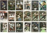 Duce Staley Philadelphia Eagles 18 card 1999-2001 insert lot-all different