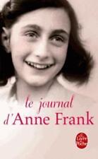 le journal d'Anne Frank Frank  Anne Neuf Livre