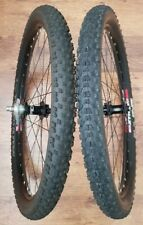 "26"" HOPE PRO 4 SS/T Single Speed Wheelset. Tubeless. Surly 17t. MAXXIS"