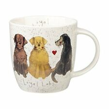 Alex Clark Fine China Squash Mug - Dog - Loyal Labs - Labrador