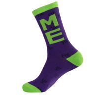 GUMBALL Caniche Crew Socks-me ME ME-Unisex