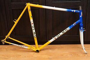 70s Bianchi Cyclocross Road Frame set 57 cm OLMO Rennrad Bike Campagnolo Vintage