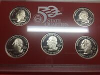 2006-s  United States Mint Silver Proof Set - 10-Coins w/ CoA & Box