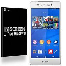 Sony Xperia Z3V [4-PACK BISEN] Anti-Glare Matte Screen Protector Film Guard