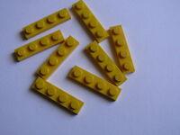 Lego 4 plates jaunes 1 x 10 set 4404 6597 8134 6373 4 yellow plate 1 x 10