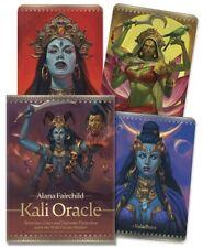 Kali Oracle Kit Deck Card Book Set Hindu Tantric Goddess tarot cards pagan