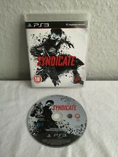 Syndicate (Playstation 3 Game) PS3