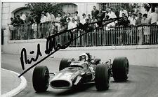 Richard Attwood mano firmado Owen Racing organización Brm F1 6x4 Foto 1.