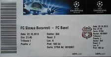 TICKET UEFA CL 2013/14 Steaua Bukarest - FC Basel