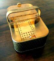 Vintage Salton Hot Basket Bun Roll Warmer Steamer Mid Century Modern